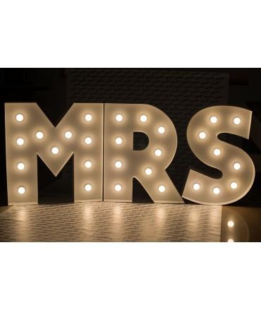 Napisy Świetlne MR&Mrs Broadway