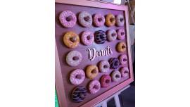 Tablica na Donuty 70x70cm