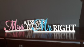 Mr Right i Mrs always right