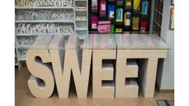 SWEET - Drewniany Słodki Stół - Wynajem