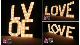 Napisy Świetlne LOVE Broadway 50cm - Sprzedaż
