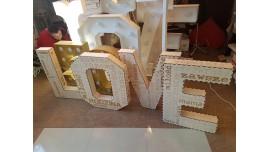Drewniane LOVE