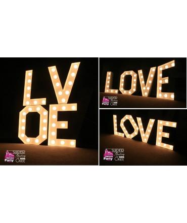 Napisy Świetlne LOVE Broadway 50cm